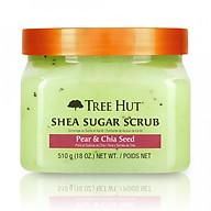 Tẩy tế bào chết cơ thể Tree Hut Shea Sugar Scrub Pear & Chia Seed thumbnail