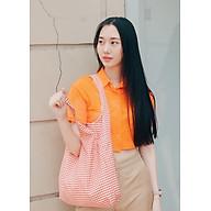 Túi Tote Vải Ginko Unisex Phong Cách Hàn Quốc Vintage (Nhiều Màu) K12 - Tặng 1 Cupholder thumbnail