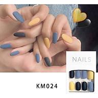 Bộ 24 móng tay giả nail thơi trang như hình KM024 thumbnail
