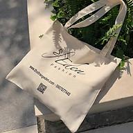 Túi tote canvas đa năng tiện lợi thời trang Eden chất liệu thân thiện môi trường - TCV001 thumbnail