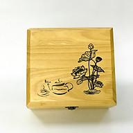 Hộp đựng trà bằng gỗ thumbnail