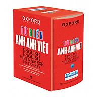 Từ điển Anh Việt bìa đỏ cứng Tái bản mới nhất - Sách học từ vựng Tiếng Anh Học nhanh Nhớ lâu Giấy nhớ PS thumbnail
