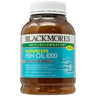 Viên uống dầu cá Blackmores Odourless Fish Oil 1000mg (400 viên) thumbnail