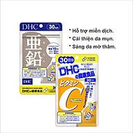 Combo Viên uống DHC Ngừa mụn - Mờ thâm 30 Ngày (Kẽm & Vitamin C) thumbnail