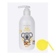Sữa Dưỡng Da Dành Cho Bé Organique Baby Lotion (300ml) - Tặng Kèm Mút Rửa Mặt thumbnail