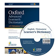 Oxford Advanced Learner s Dictionary 8th Edition (With Vietnamese Translation) and CD - ROM (Hardback) thumbnail