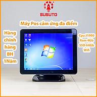 Máy POS bán hàng SC-110S- Hàng chính hãng (J1900, 4G DDR RAM, 64G SSD, 15 inch, Black, 1 màn) thumbnail