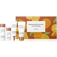Bộ Sản Phẩm Chăm Sóc Dưỡng Sáng Da Và Se Khít Lỗ Chân Lông Innisfree Brightening Skin Care Set thumbnail