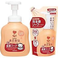 Combo Sữa Tắm Dưỡng Ẩm Cho Em Bé Arau Baby Cam (Bình 450ml + Túi 400ml) thumbnail