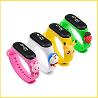 Đồng hồ trẻ em Silicon nhiều màu, đồng hồ điện tử thông minh cho bé E132 - Big hồng thumbnail