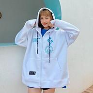 Áo khoác hoodie Chống Nắng cho nam nữ in hình Angle Land, unisex form rộng có dây kéo ulzzang thumbnail