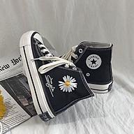Giày thể thao cổ cao vải - Hoa cúc thumbnail