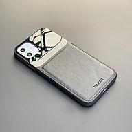 Ốp lưng da kính cao cấp dành cho iPhone 12 Mini 12 12 Pro 12 Pro Max - Hàng chính hãng thumbnail