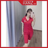 Bộ pijama lụa áo cộc quần lửng bộ ngủ cao cấp mềm mại thoải mái dễ thương giá rẻ H28 thumbnail
