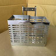 Ống đũa hai ngăn inox 304 loại đẹp làm thủ công rất sắc sảo, hàng chính hãng. thumbnail