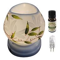Combo tinh dầu sả chanh Eco oil 10ml cùng đèn xông tinh dầu tam giác TG11 thumbnail
