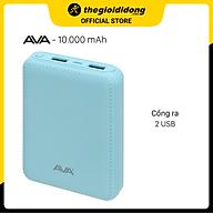 Pin sạc dự phòng 10.000 mAh AVA DS003-WB thumbnail