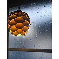 Đèn gỗ trang trí quả thông độc đáo thumbnail
