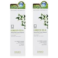 Bộ 2 sữa rửa mặt dành cho nam chiết xuất trà xanh GREEN TEA DABO hàn quốc ( 60ml) - HÀNG CHÍNH HÃNG thumbnail