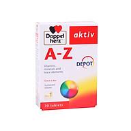 Thực phẩm bảo vệ sức khỏe DoppelHerz A-Z Depot (30 viên) thumbnail
