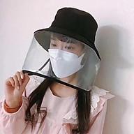 Mũ vải nữ có kính bảo vệ chống bụi chống nắng tốt thumbnail