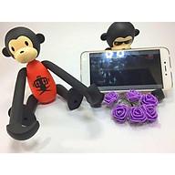 Giá đỡ điện thoại hình con khỉ (màu ngẫu nhiên) thumbnail