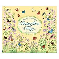 Usborne Rub-down transfer book Butterflies and Bugs thumbnail
