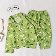 Bộ đồ ngủ Pyjama dài tay họa tiết cho bé gái BR20017 - MAGIC KIDS thumbnail