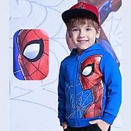 Áo khoác bé trai hình siêu nhân từ 10-40kg. Chất thun da cá hút mồ hôi -Bonchop thumbnail
