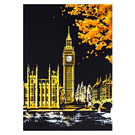Creative DIY Scratch Bright City Night View Scraping Painting World Sightseeing Pictures as Gifts thumbnail