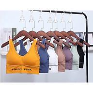 Bộ 2 Áo Tập Gym Nữ Cao Cấp - Chất Liệu Dệt Kim Co Giãn Thấm Hút Mồ Hôi Tốt - Áo Tập Yoga - Br07 thumbnail