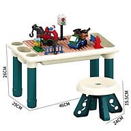 Bộ đồ chơi xếp hình LEGO kèm bàn + ghế thumbnail
