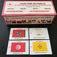 Bộ flash card 361 lá cờ quốc kỳ của các quốc gia và vùng lãnh thổ, có song ngữ Việt - Anh - SP002399 thumbnail