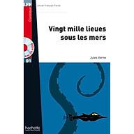 Sách luyện đọc tiếng Pháp trình độ B1 (kèm CD) - LFF B1 - Vingt mille lieues sous les mers thumbnail