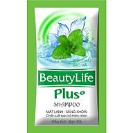 Dầu gội sạch gàu bạc hà dạng gói nhỏ gọn,tiện dụng Beauty Life 10 gói x 5g(Combo 6 dây) thumbnail