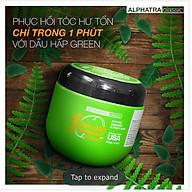 KEM Ủ TÓC 1 PHÚT THẢO DƯỢC - 1 MINUTE TREATMENT KERATIN (GREEN) - Alphatra Classic - 500ml thumbnail