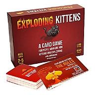Mèo Nổ Bạc - Exploding Kittens Silver Phiên bản nâng cấp 78 lá - Bản Song Ngữ Anh - Việt ( Có tiếng việt đi kèm) thumbnail