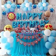 Trang trí sinh nhật 2 rèm kim tuyến(HAPPYBIRTHDAY) thumbnail