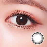 Kính áp tròng Hàn Quốc Clalen Iris dùng 1 ngày màu Jazz Black thumbnail