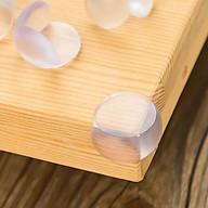 Set 4 miếng silicon bịt góc bàn an toàn cho trẻ nhỏ thumbnail