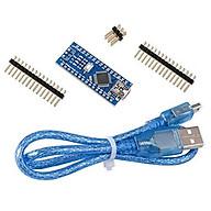 Module arduino NANO V3.0 Atmega328P CH340 (board phát triển) kèm cable USB thumbnail