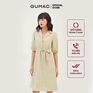 Đầm suông nữ thiết kế caro GUMAC DB316 thumbnail