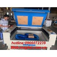 Máy khắc laser model YH-1490D gia công các vật liệu phi kim như da, vải, pha lê, thủy tinh hữu cơ, ngọc, gỗ, giấy,cao su thumbnail