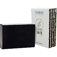 Xà Bông Tắm Than Tre Hoạt Tính Heebee Detox, Thải Độc Da Bamboo Charcoal Natural Soap Bar 100gr thumbnail