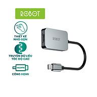 Bộ Chuyển đổi Type-C sang HDMI ROBOT HT100 Kết nối Laptop USB-C với Máy Chiếu - Hàng Chính Hãng thumbnail