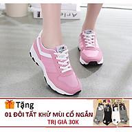 Giày Nữ Tăng Chiều Cao Hồng HiNiTi Dáng Đẹp- Năng Động Tặng Tất thumbnail