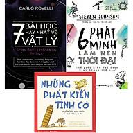 Bộ Sách Cực Hay Về Kiến Thức Khoa Học Tự Nhiên Và Những Phát Minh Nổi Tiếng ( 7 Bài Học Hay Nhất Về Vật Lý + 6 Phát Minh Làm Nên Thời Đại + Những Phát Kiến Tình Cờ ) tặng kèm bookmark Sáng Tạo thumbnail