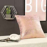 Vỏ Gối tựa lưng trang trí sofa đan kim ánh bạc sang trọng thumbnail