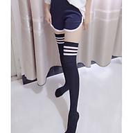 Tất Vớ Đùi Nữ Sinh phong cách Hàn Quốc Nhật Bản MJ88 dài Qua gối thumbnail
