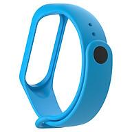 TPU Watch Band Wrist Strap Wristband Replacement Compatible with Mi Band 3 4 thumbnail